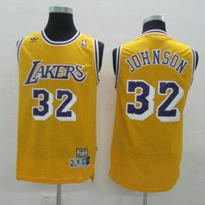 Nike Los Angeles Lakers Magic Johnson Jersey NEW